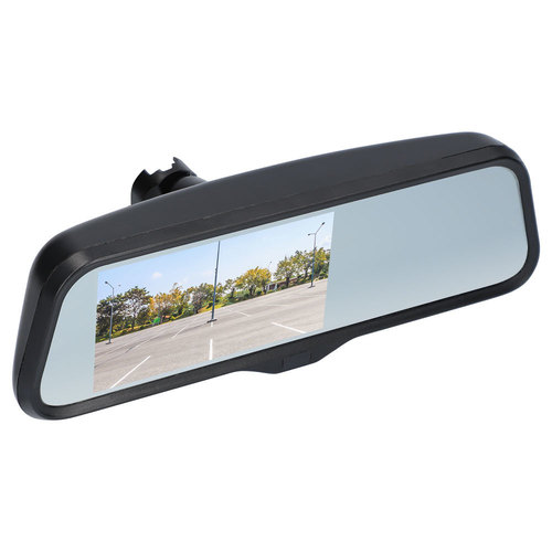 Water-Resistant Rearview Mirror with 4.5 inch Monitor