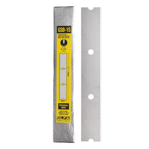 Stainless Steel Scraper Blades - 30PK