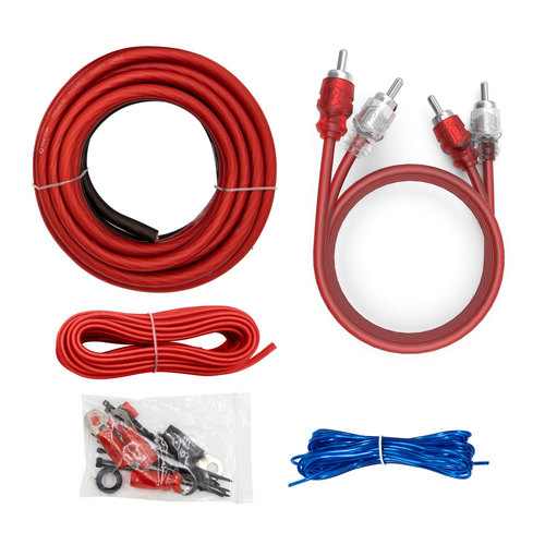 1000W 4 AWG Amp Kit with RCA Cable - Vice Series