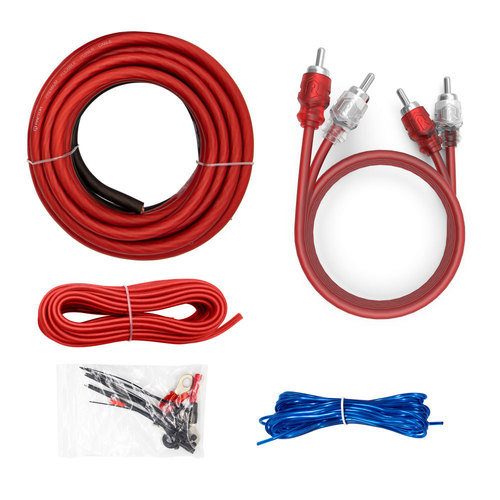600W 8 AWG Amp Kit with RCA Cable - Vice Series