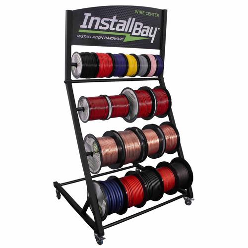 Multi-Spool Rack Display