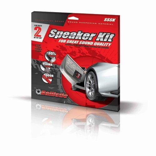 Sound Damping Material - Speaker Kit