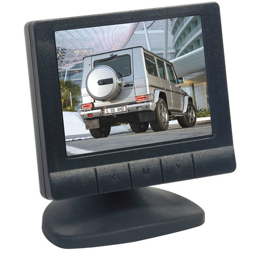 3.5 inch Color Video Screen - 2 Inputs
