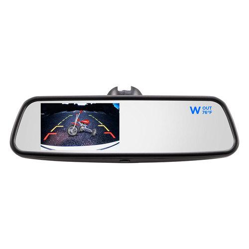 4.5 Inch Compass/Temp Mirror Monitor