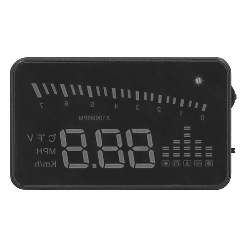Windsheid Projected Heads Up Display