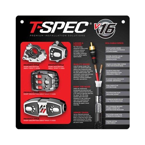 T-Spec Slatwall Hanging Display