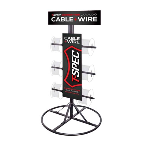 T-Spec Wire Spool Display Stand