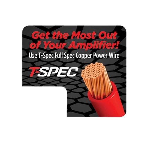 T-Spec Shelf Talker