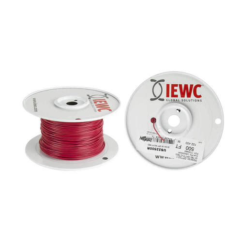 22 GA US GPT PRIMARY WIRE RED - Coil of 500 FT