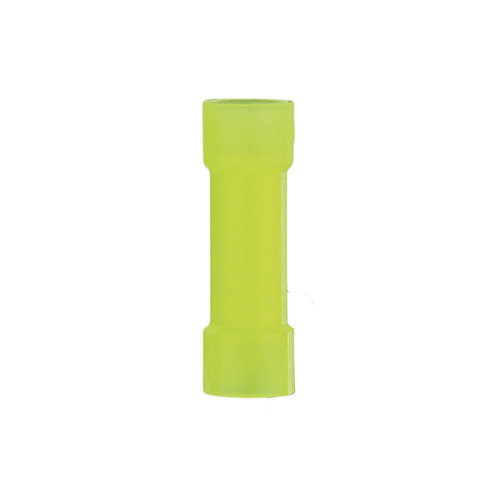 Yellow Nylon Butt Connector 12-10 Gauge - Package of 1000