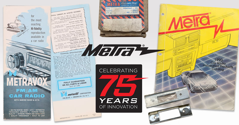 Metra Electronics® to Attend SEMA Show and Celebrate 75 Years of Innovation